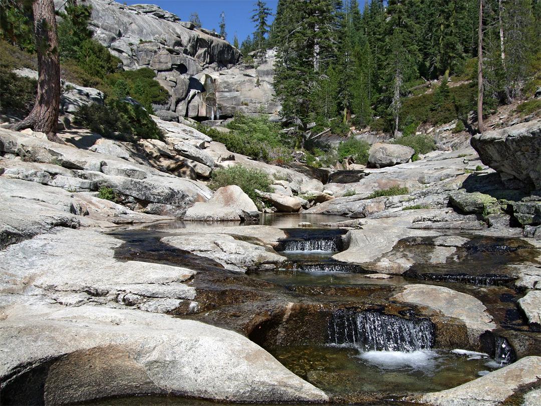 Pools On The Creek Chilnualna Falls Trail Yosemite