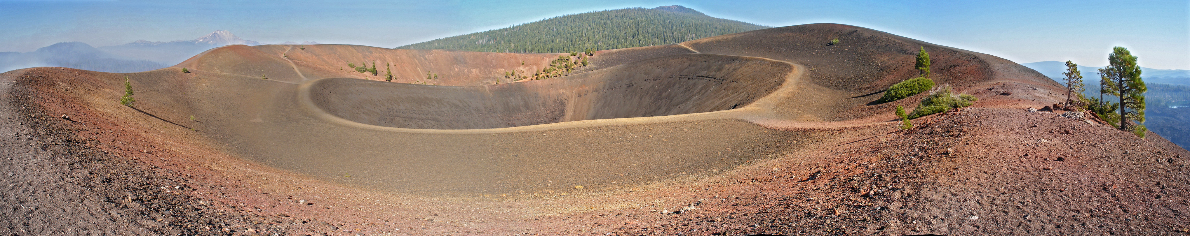 Cinder Cone, from the east rim