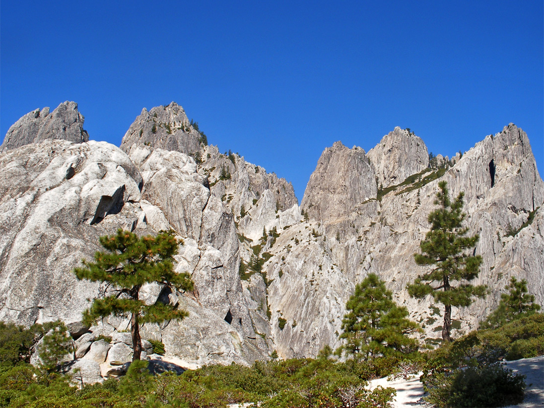 Summits of the crags