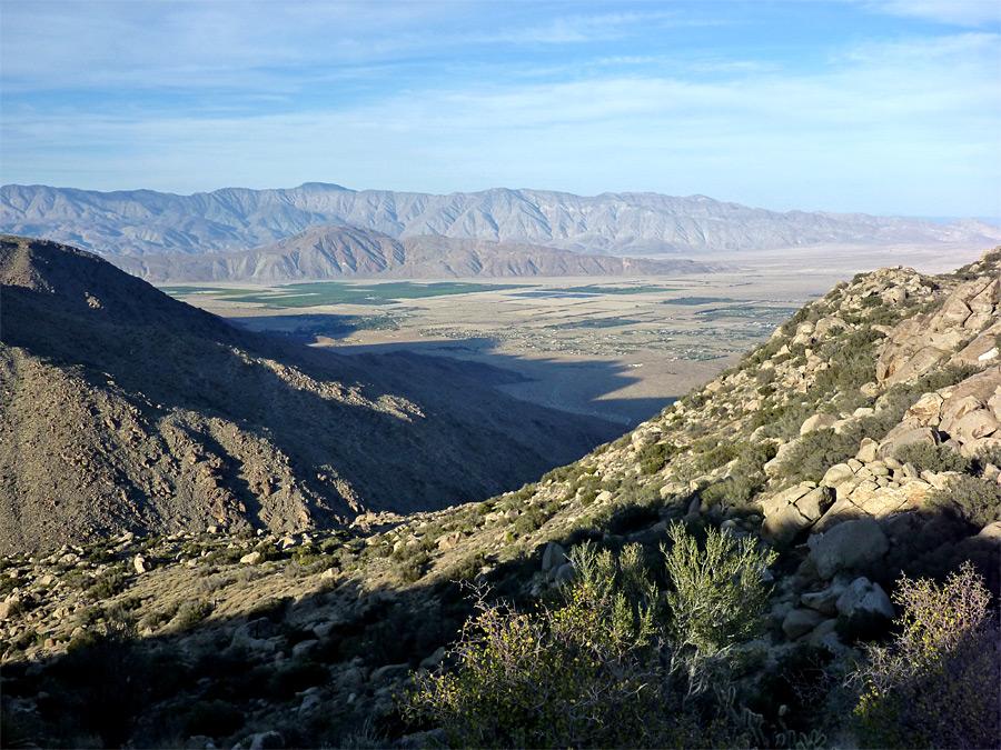 Culp Valley Trail Anza Borrego Desert State Park California