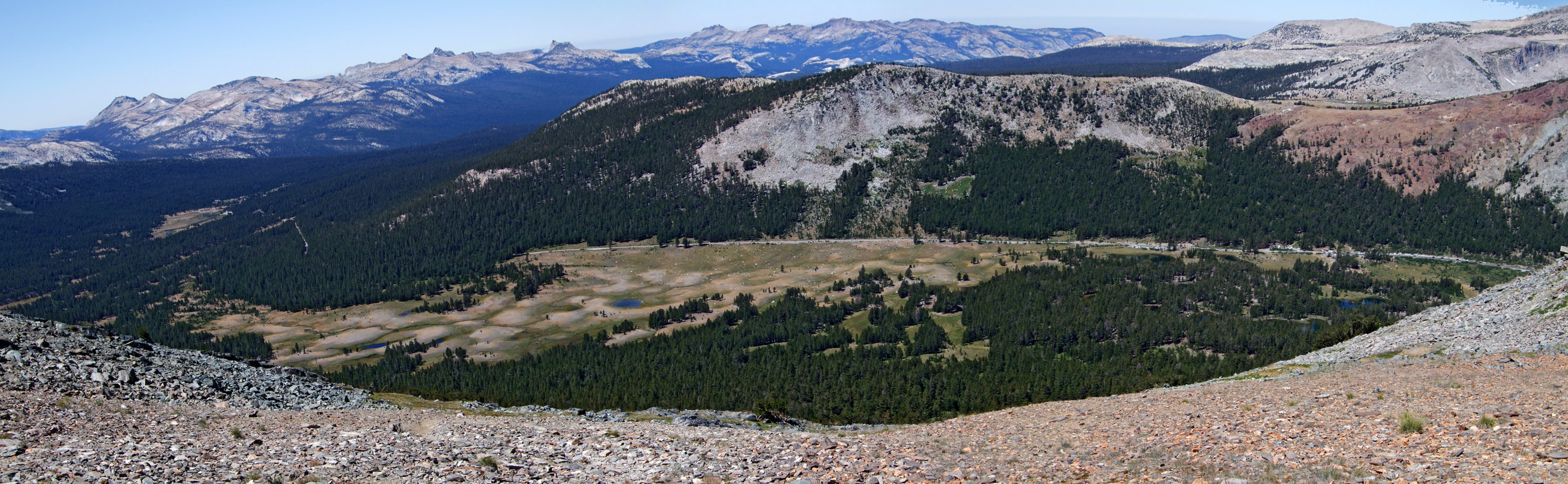Tioga Road and Dana Meadows