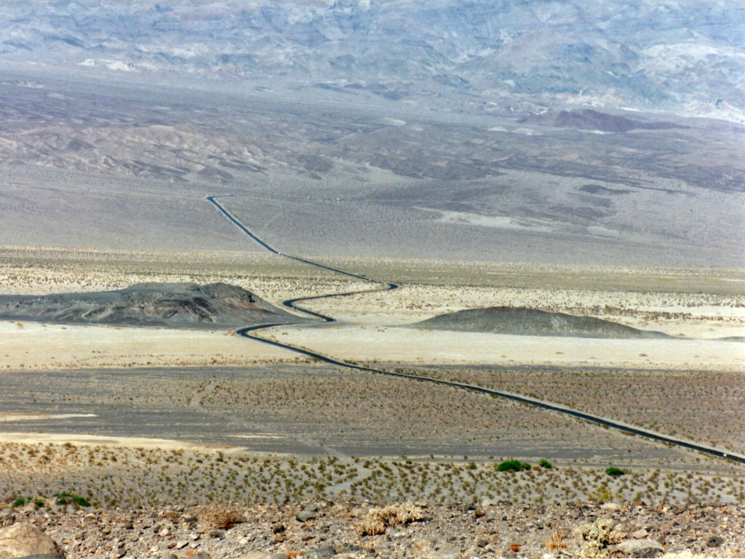 CA 190 east of Stovepipe Wells