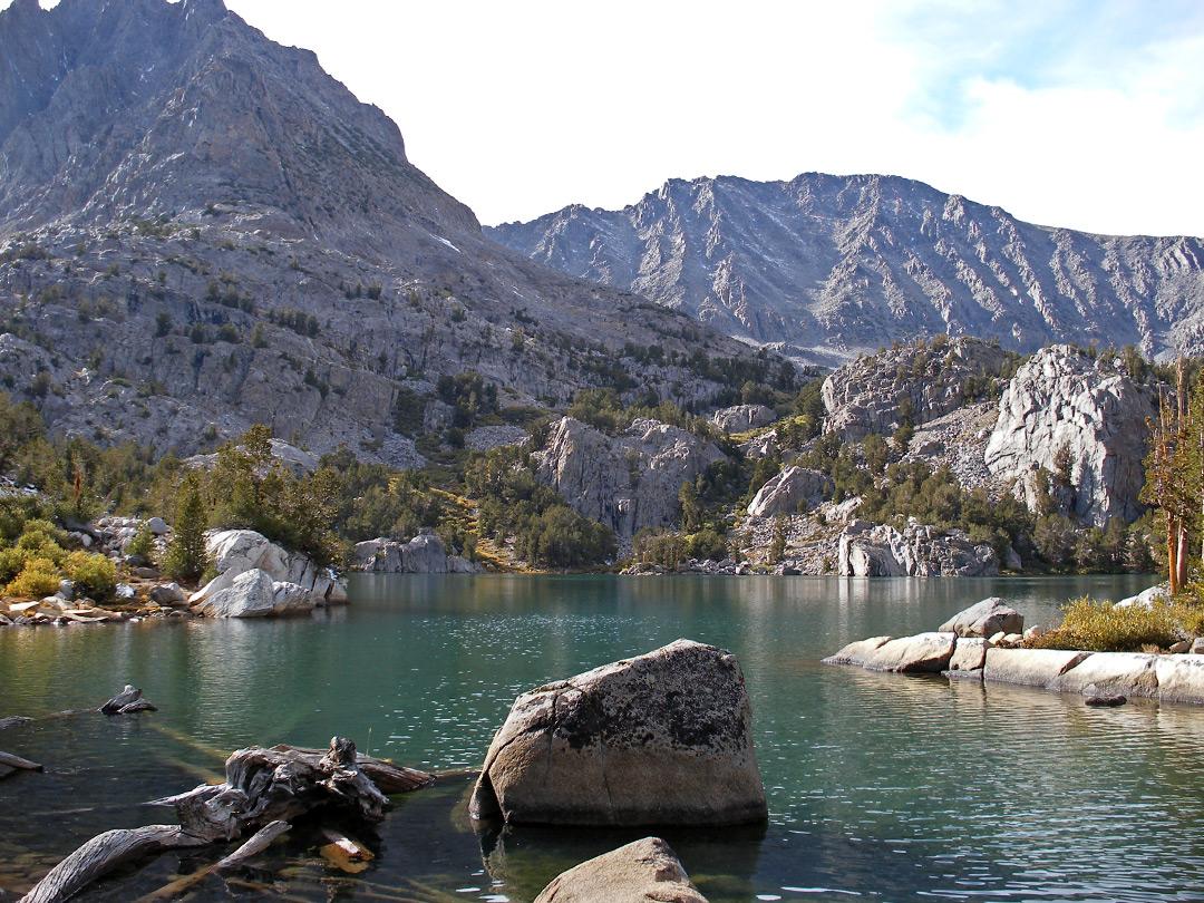 Fifth Lake: the Big Pine Lakes, California