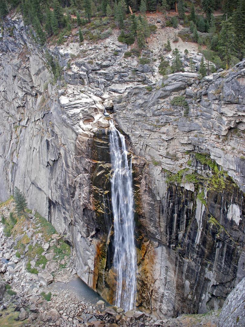 Illilouette Fall Panorama Trail Yosemite National Park