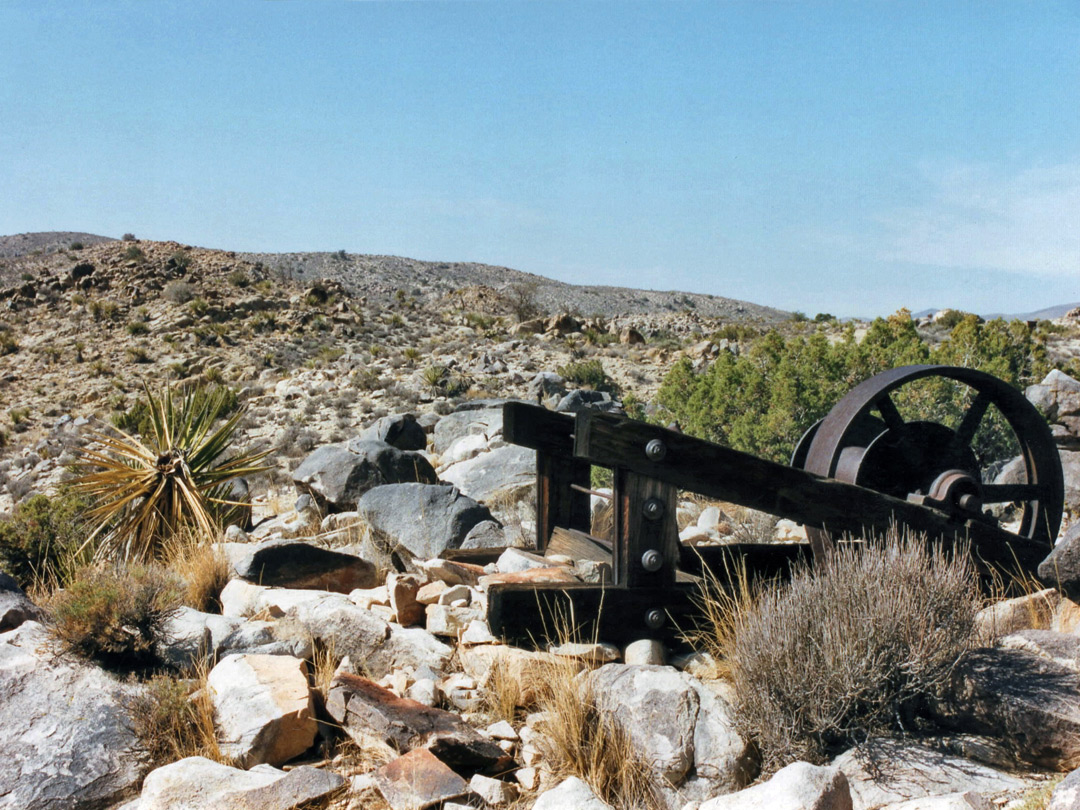 Machinery at the Desert Queen Mine