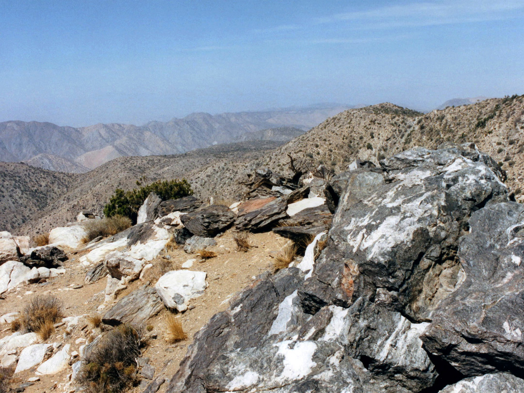 Summit near Keys View