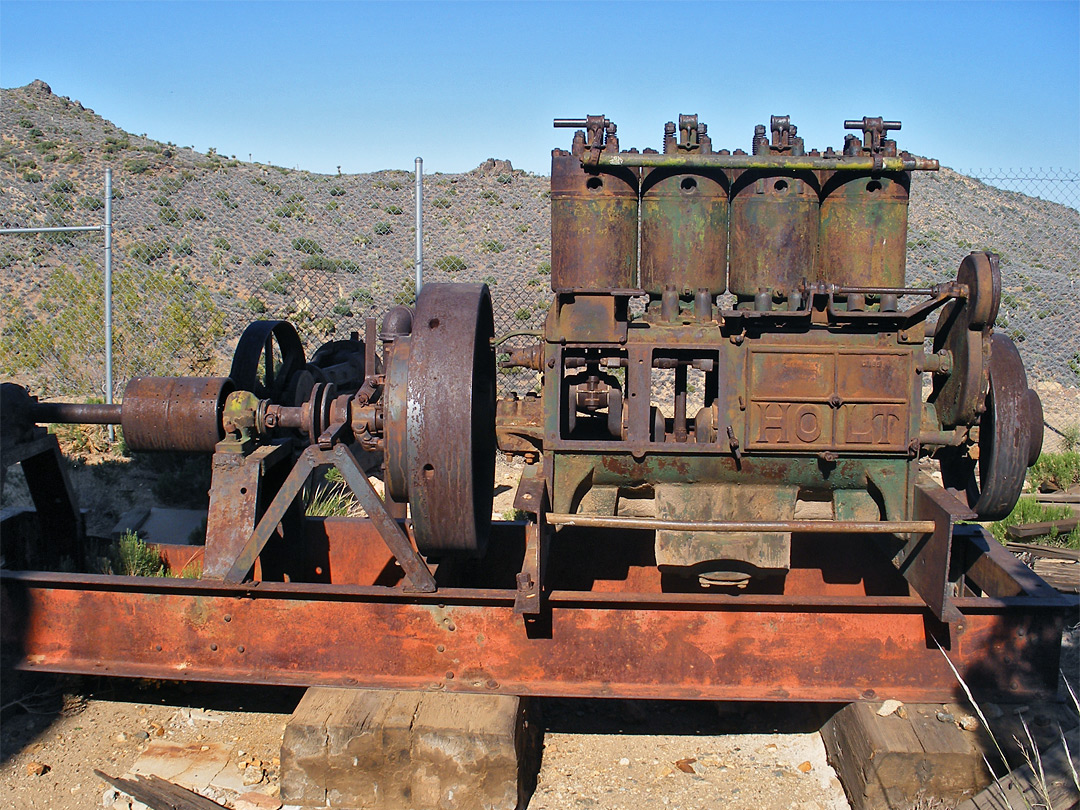 Iron machinery