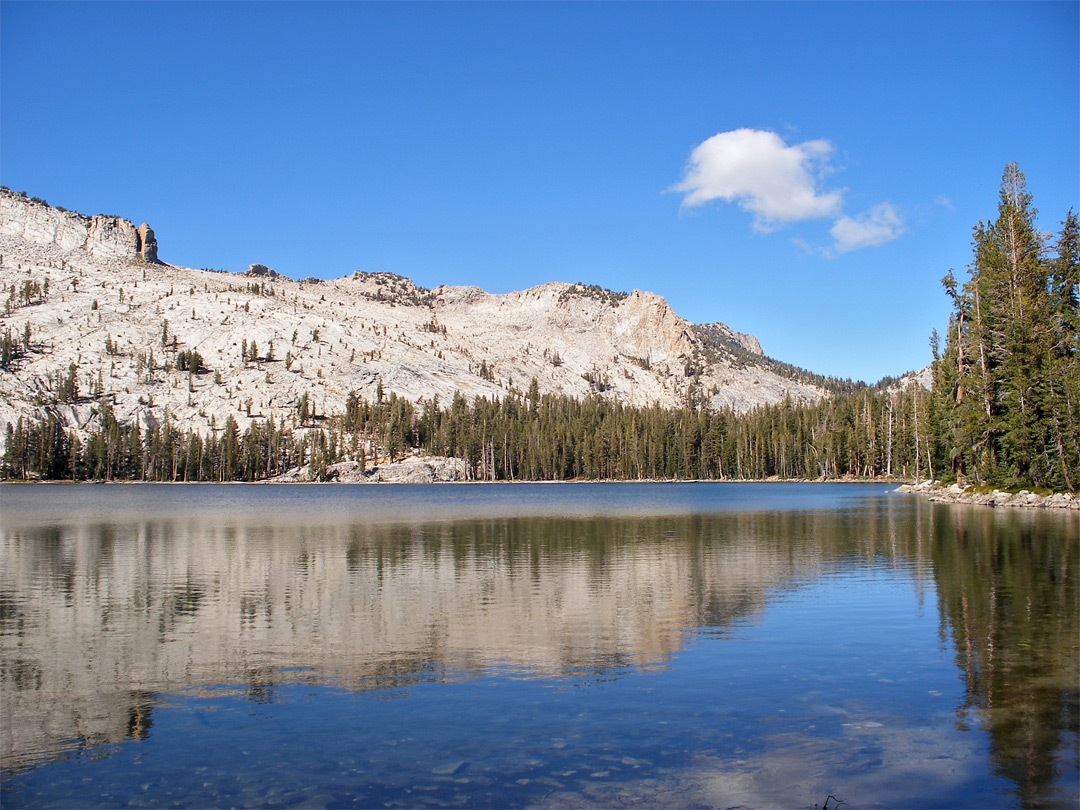 Reflections on May Lake