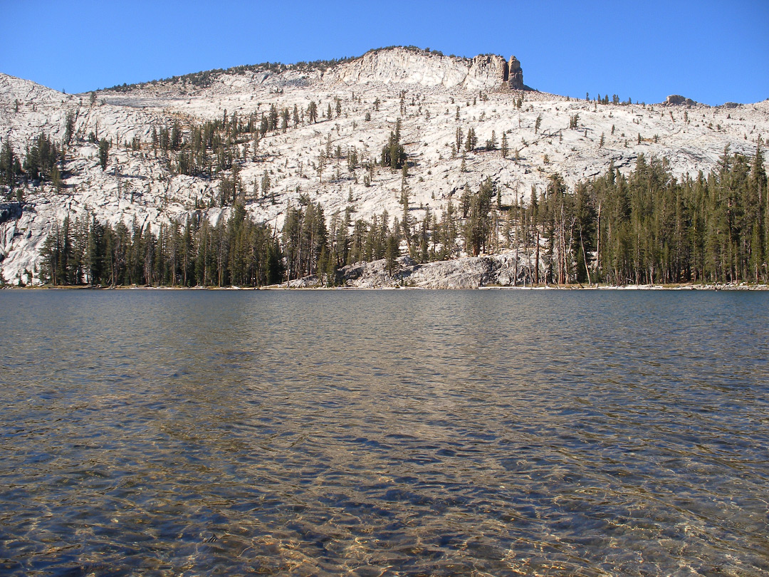 Waters of May Lake