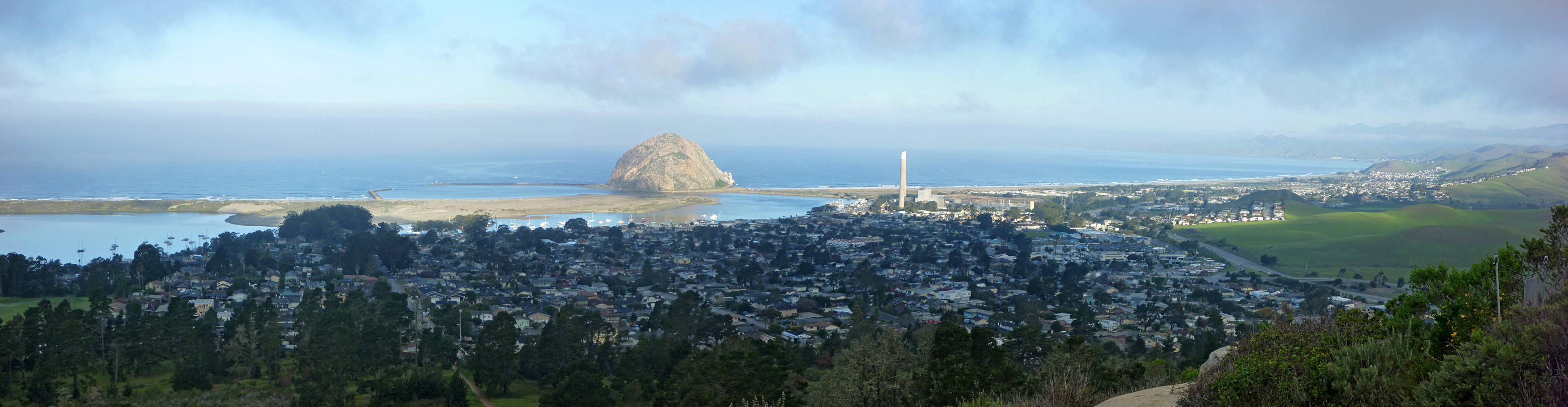 The town of Morro Bay