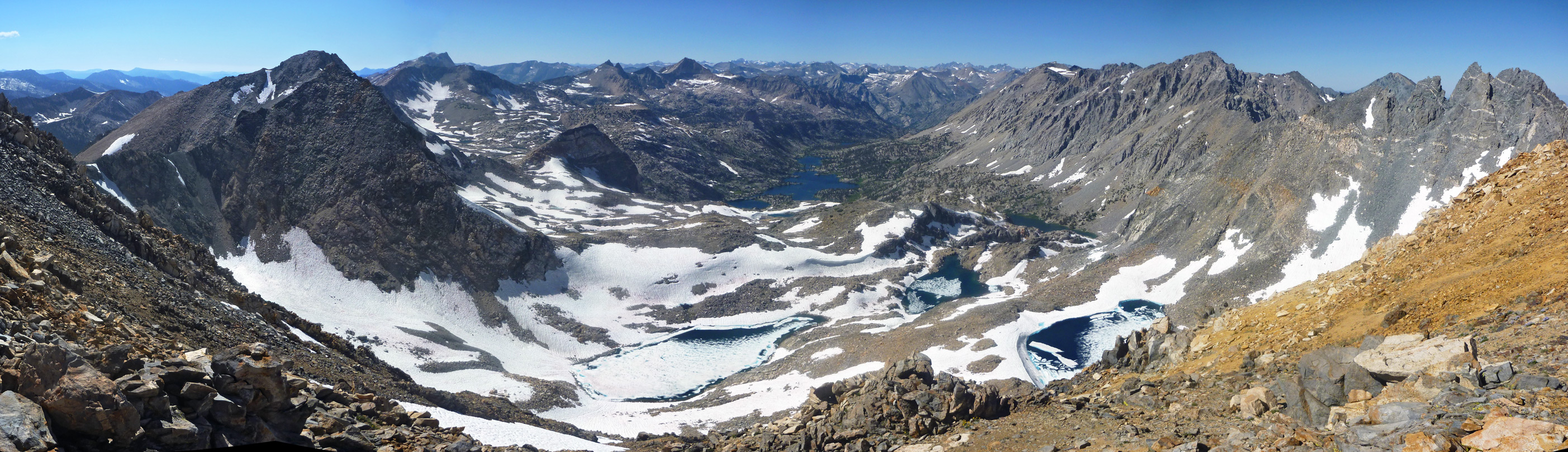 Panorama from Mount Gould
