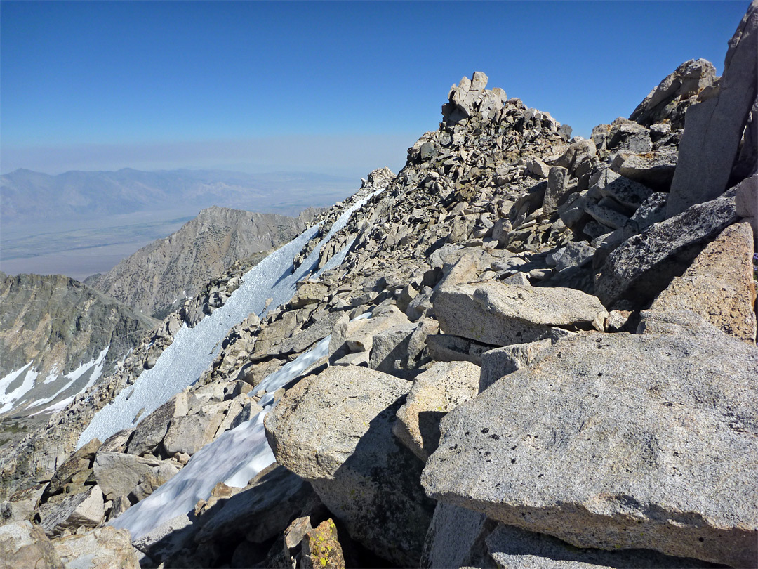 Summit of Mt Gould