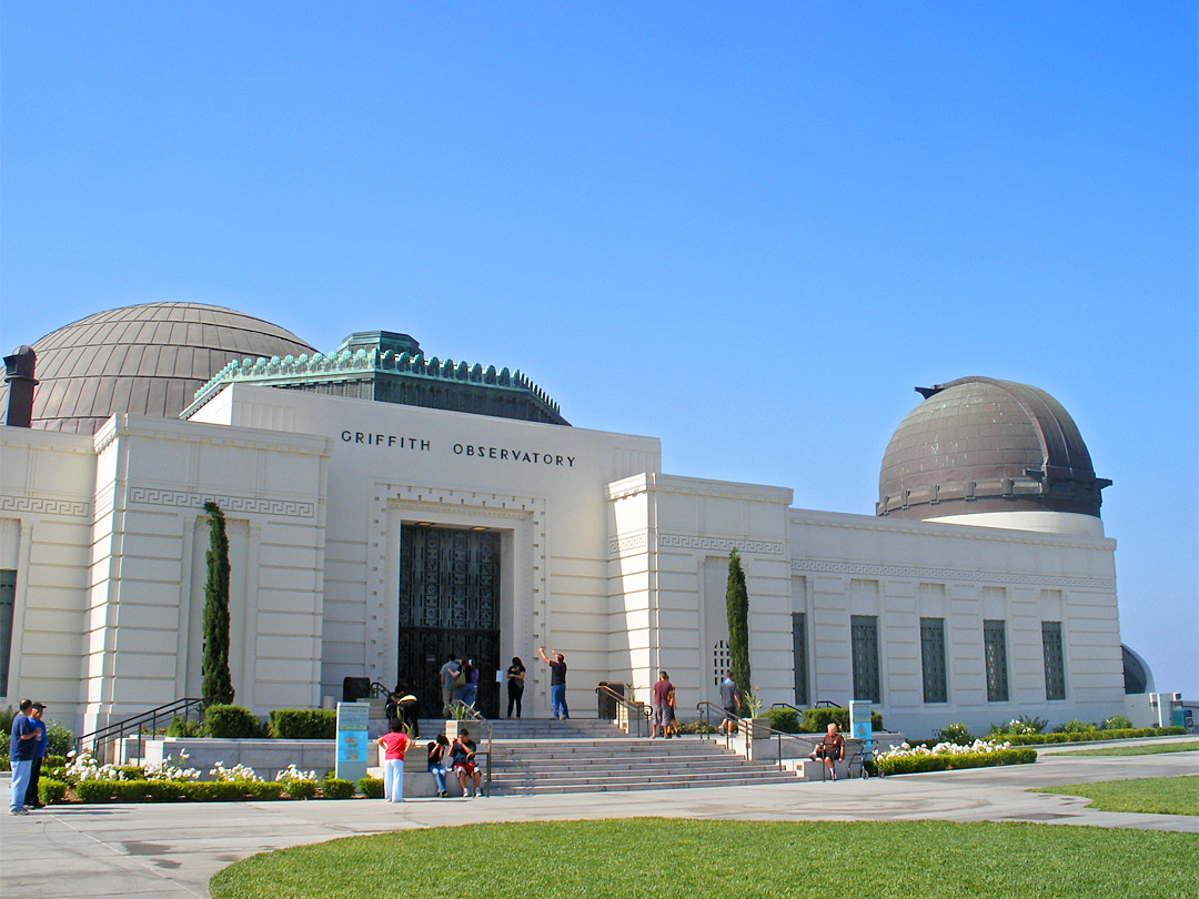 Entrance to Griffith Observatory