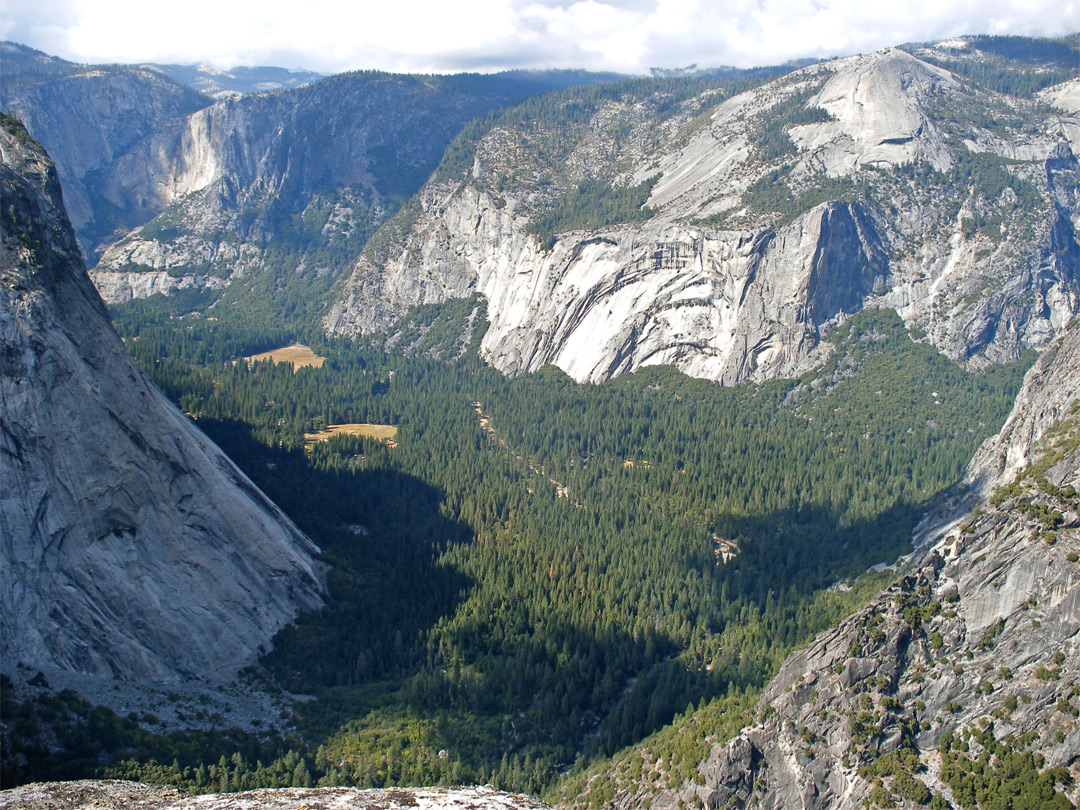 Yosemite Valley Panorama Point Panorama Trail Yosemite