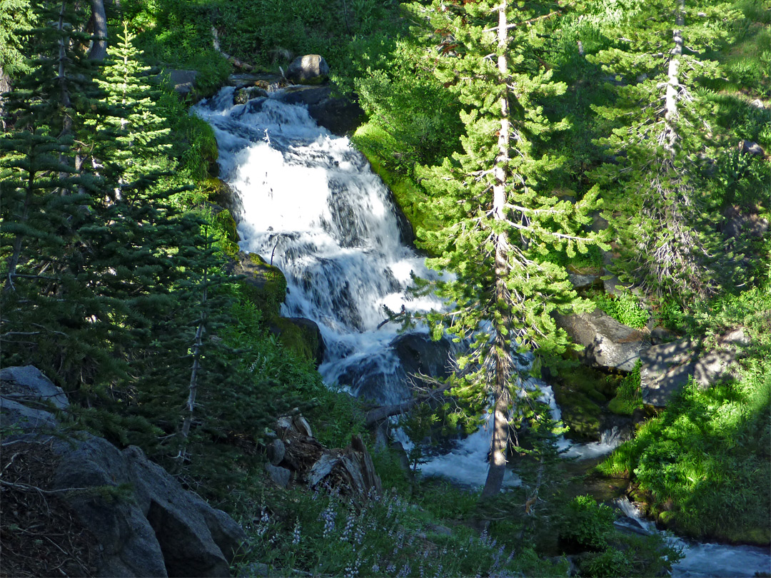 Hat Creek cascade
