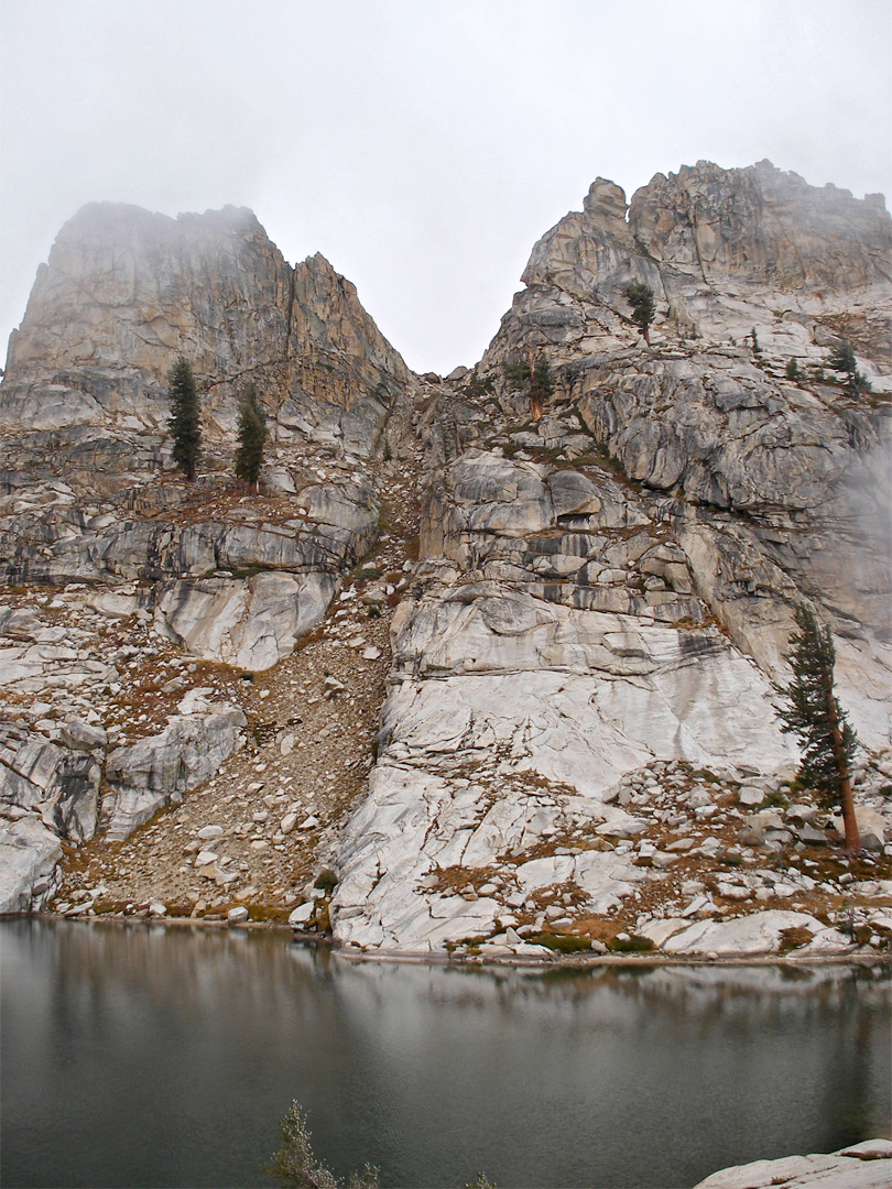 Mountains above Pear Lake