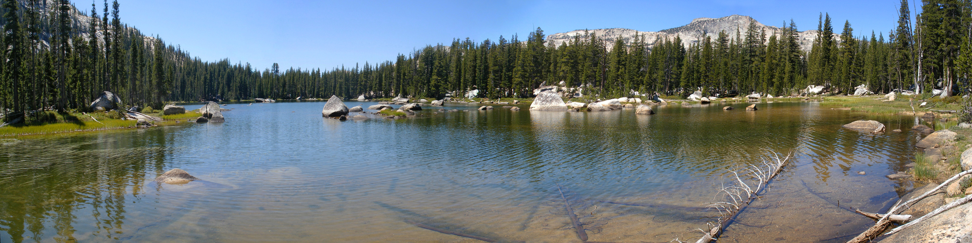 Largest of the Polly Dome Lakes