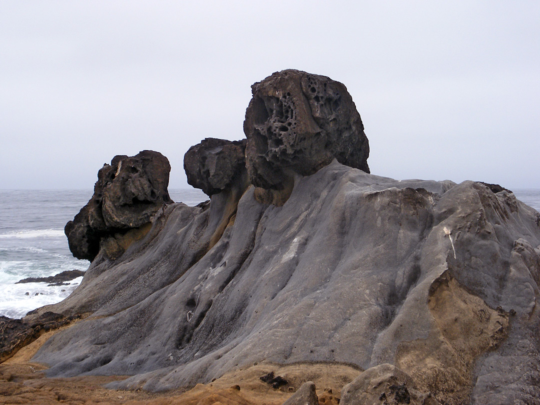 Animal-like rocks