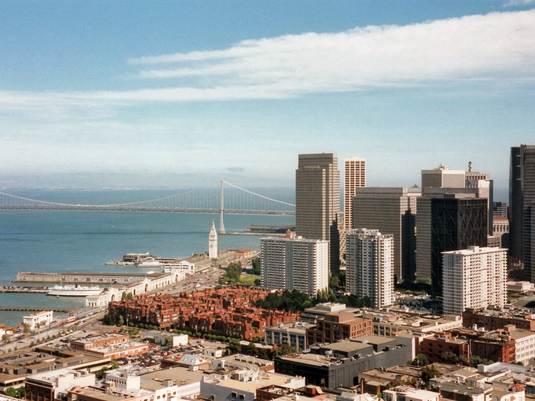 Bay Bridge and the Embarcadero