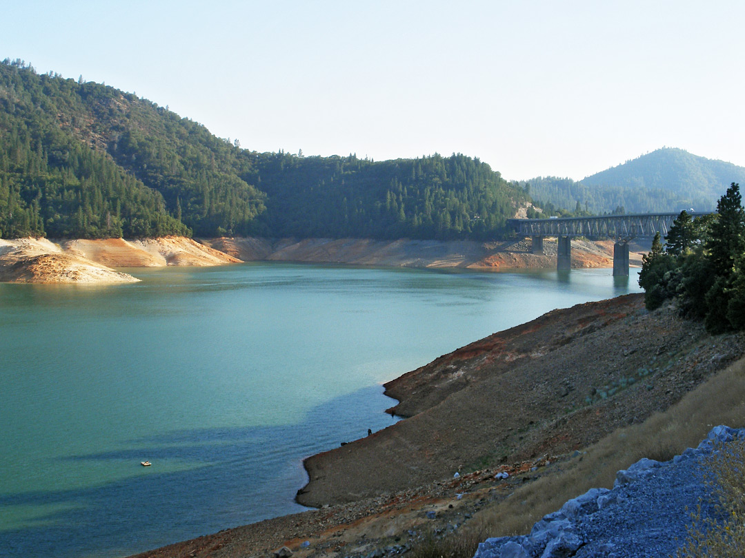 Bridge over Shasta Lake