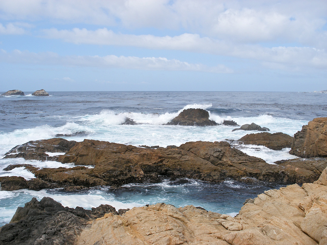 Rocks off Soberanes Point