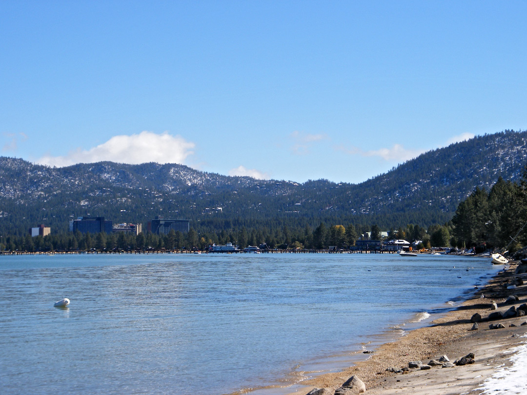 Beach at South Lake Tahoe