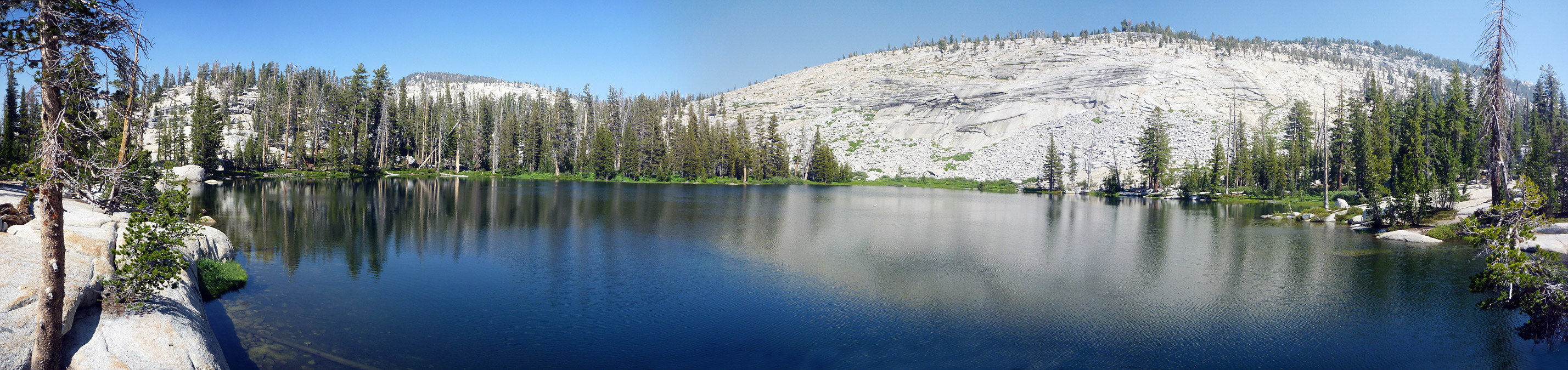Panorama of the first lake