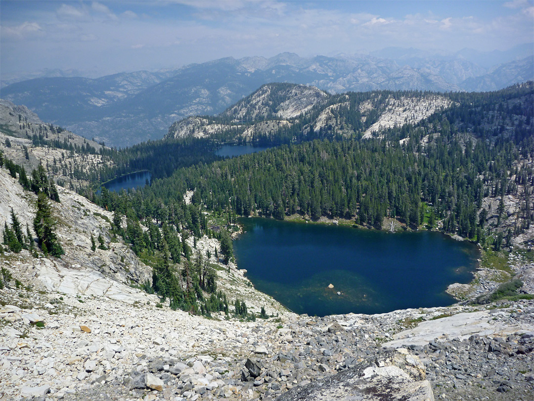 Ten Lakes And Grant Lakes Trails Yosemite National Park