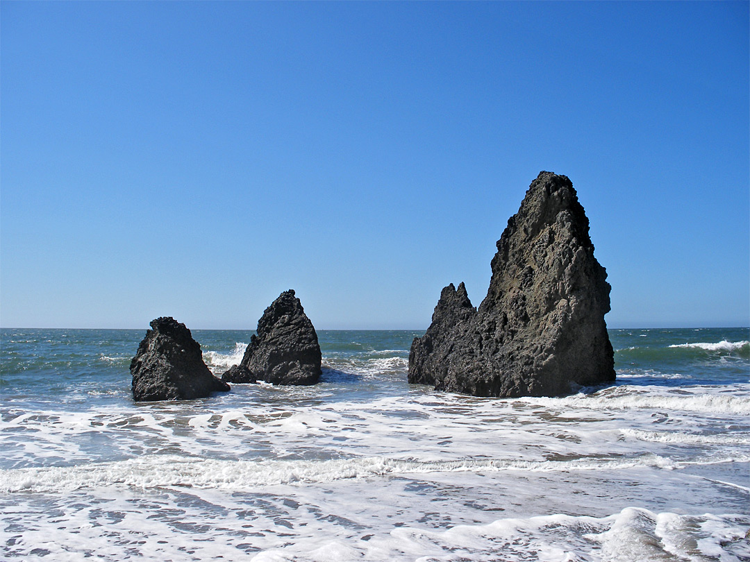 Rocks at Rodeo Beach