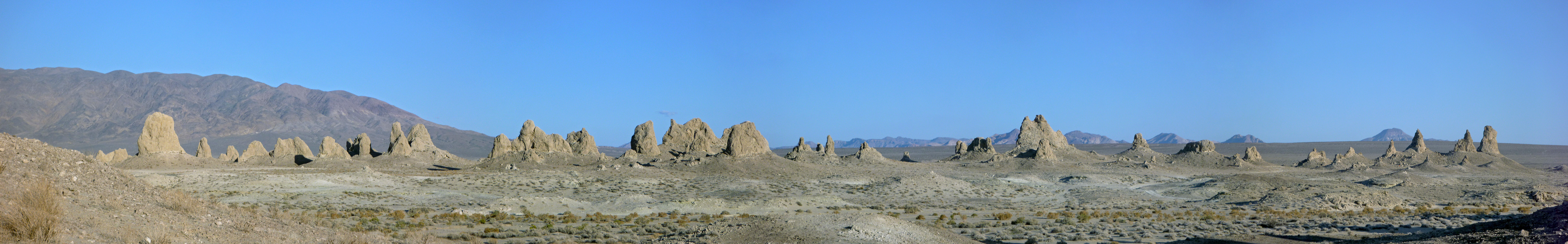 Panorama of the pinnacles