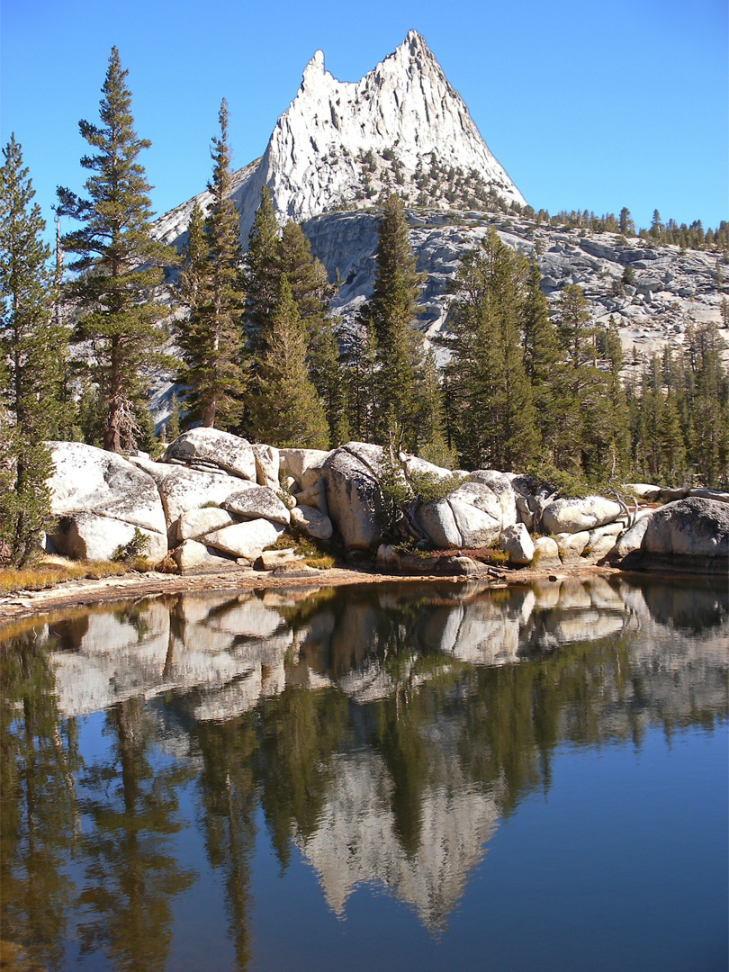 Reflection of Cathedral Peak