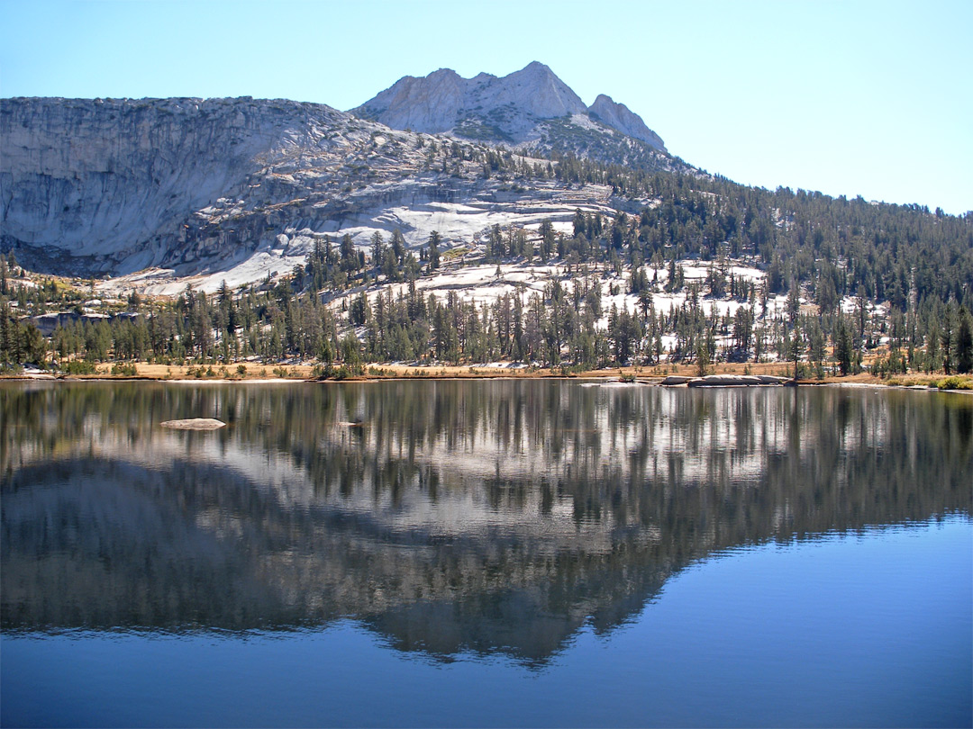 East side of Upper Cathedral Lake
