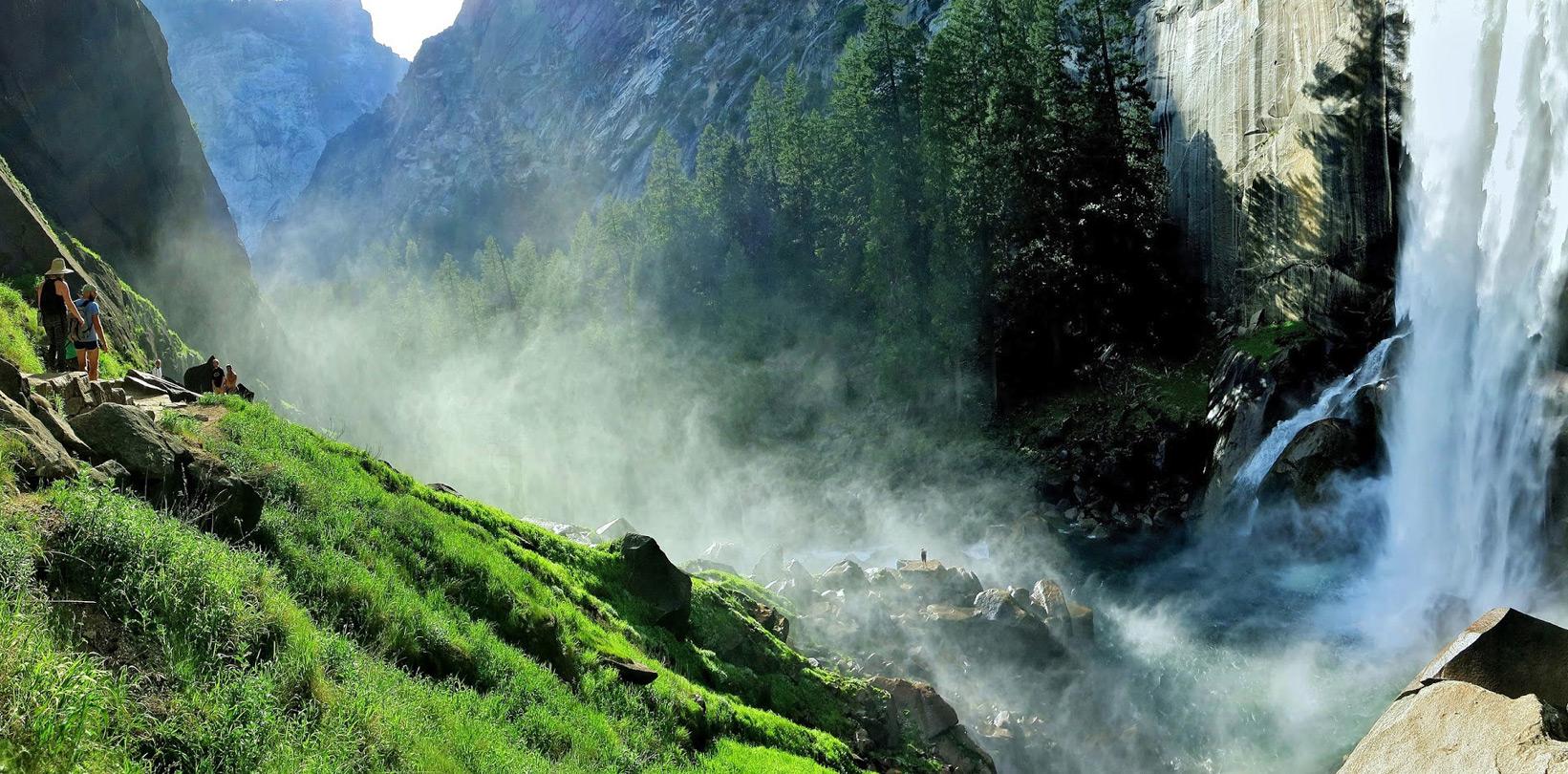 Vernal Fall, Yosemite National Park, California