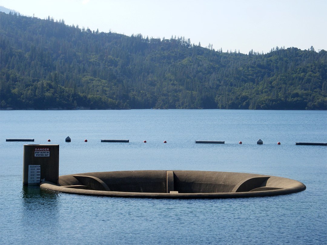 Spillway on Whiskeytown Lake