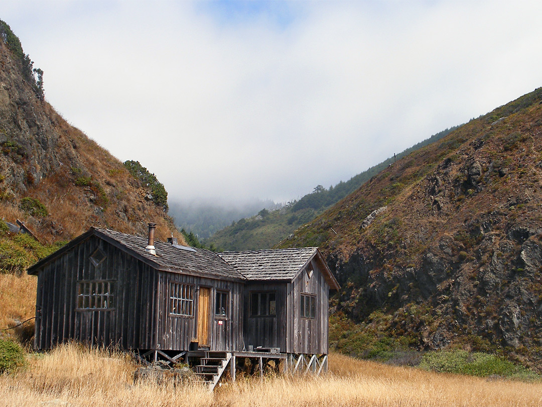 Wooden Cabin The Lost Coast California