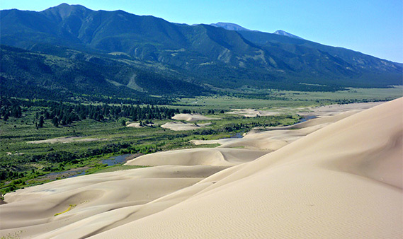 Great Sand Dunes National Park and Preserve Colorado
