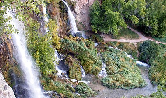 Rifle Falls State Park Northwest Colorado