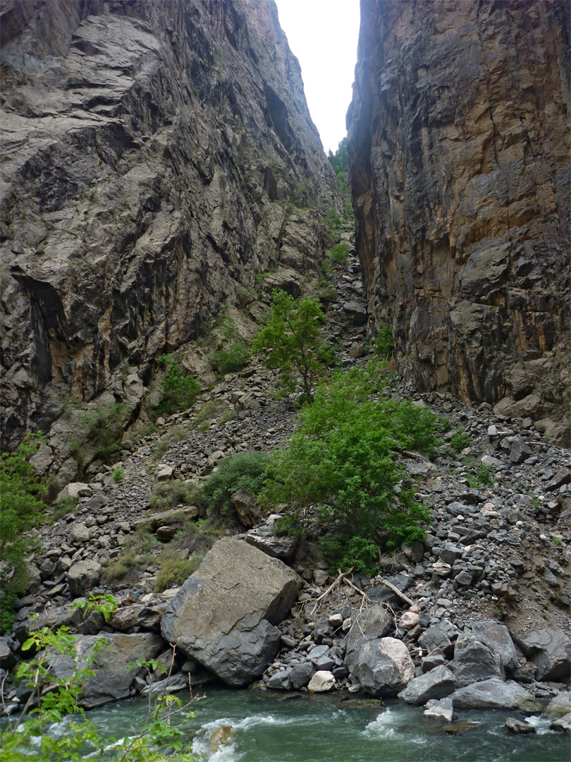 Echo Canyon: Long Draw, Black Canyon of the Gunnison National Park ...
