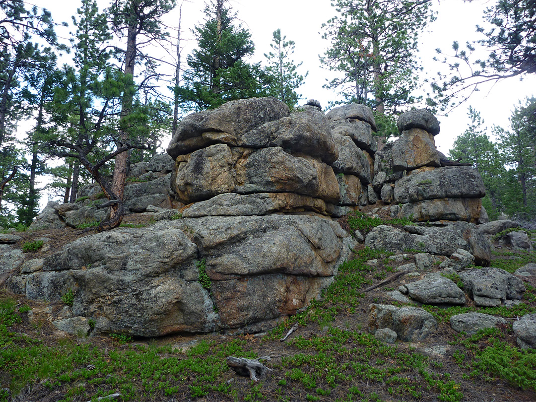 Granite outcrop