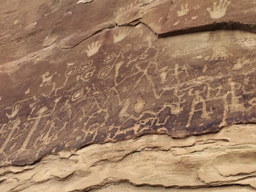 Petroglyph Point Trail Mesa Verde National Park Colorado