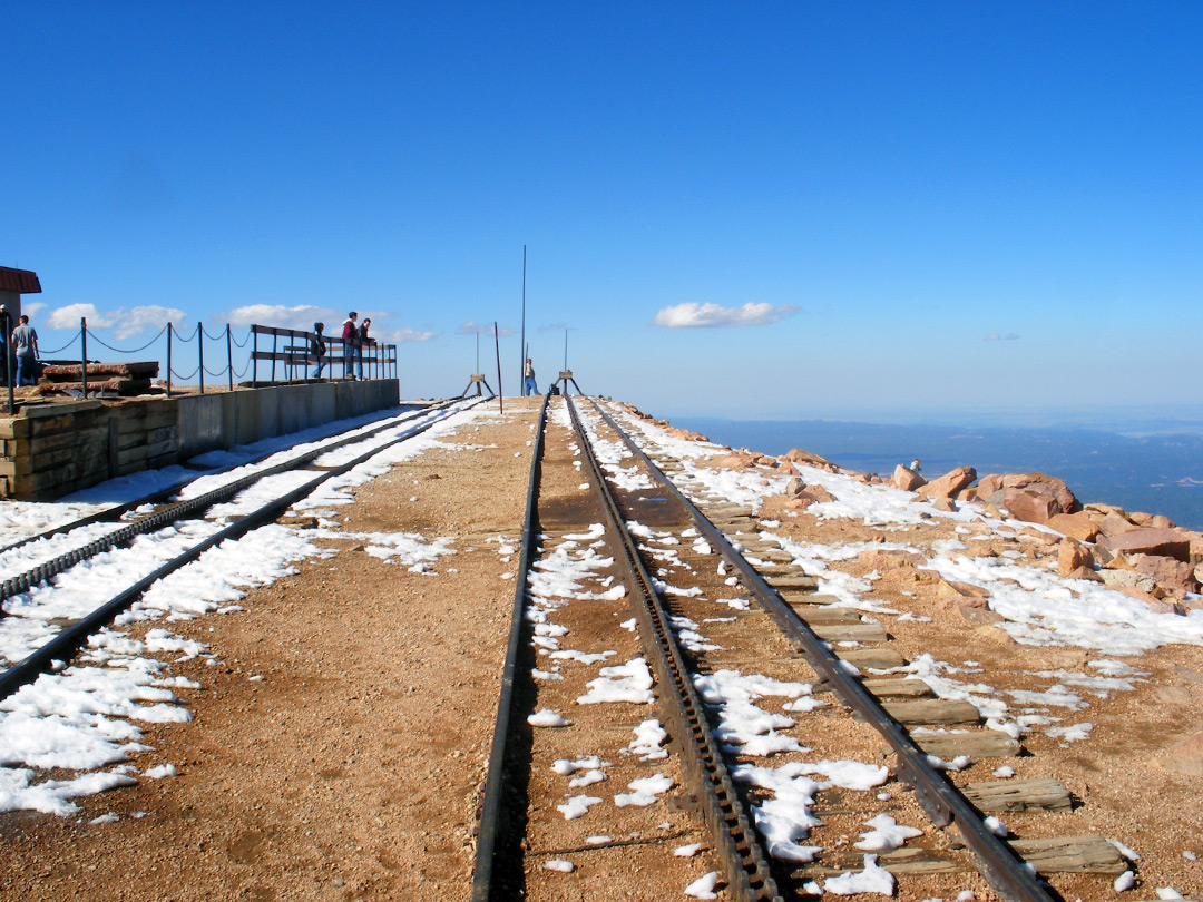 End of the cog railway