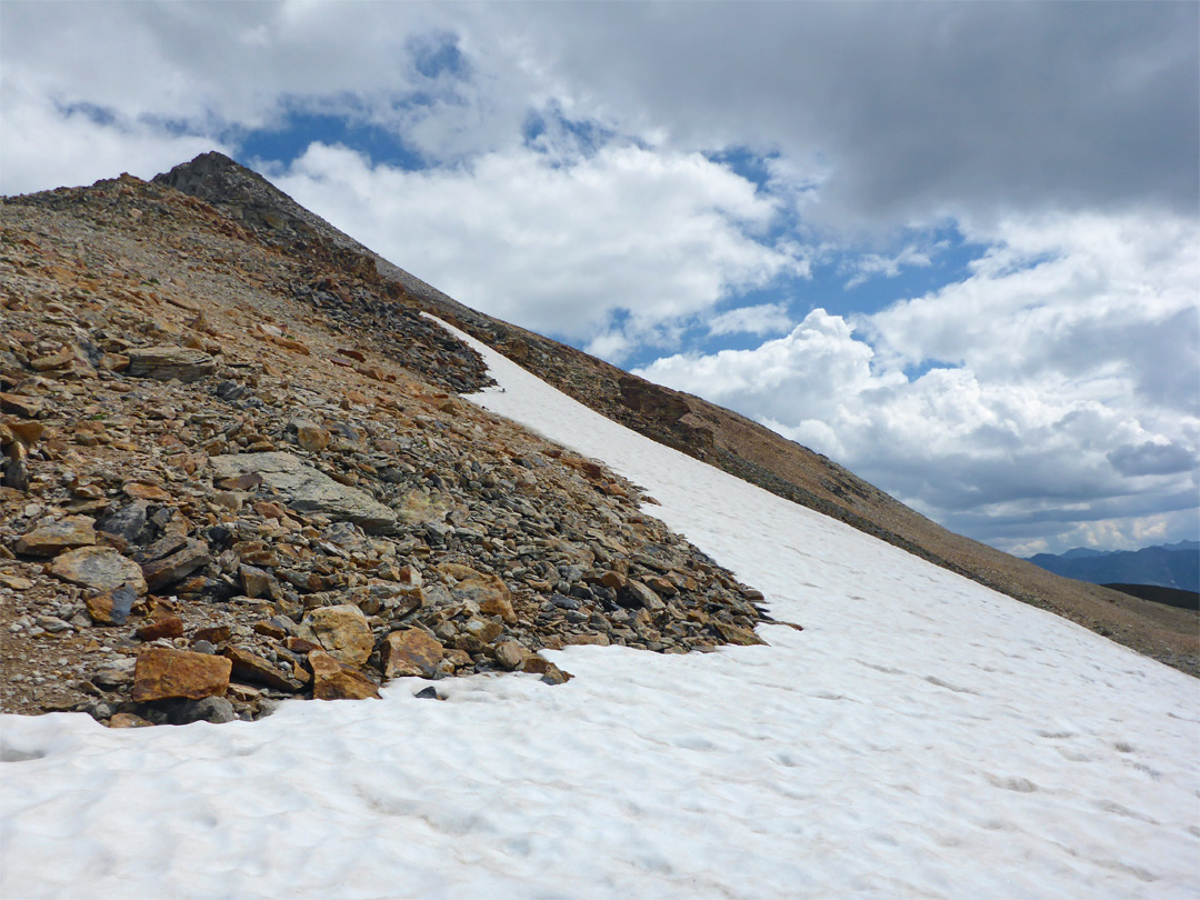 Snow and scree