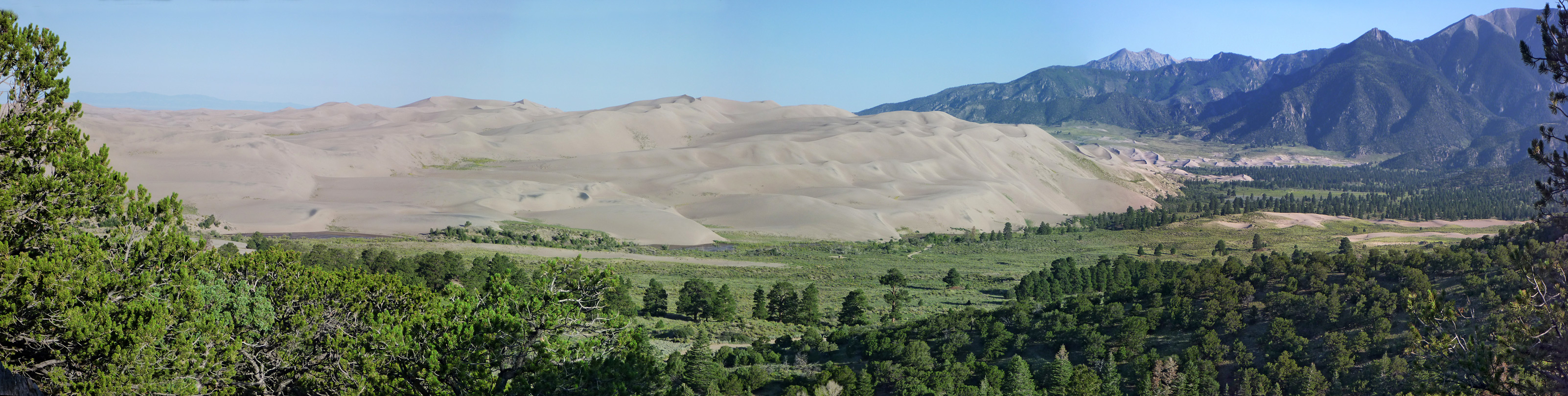 Dunes Overlook Trail: Great Sand Dunes National Park and Preserve ...