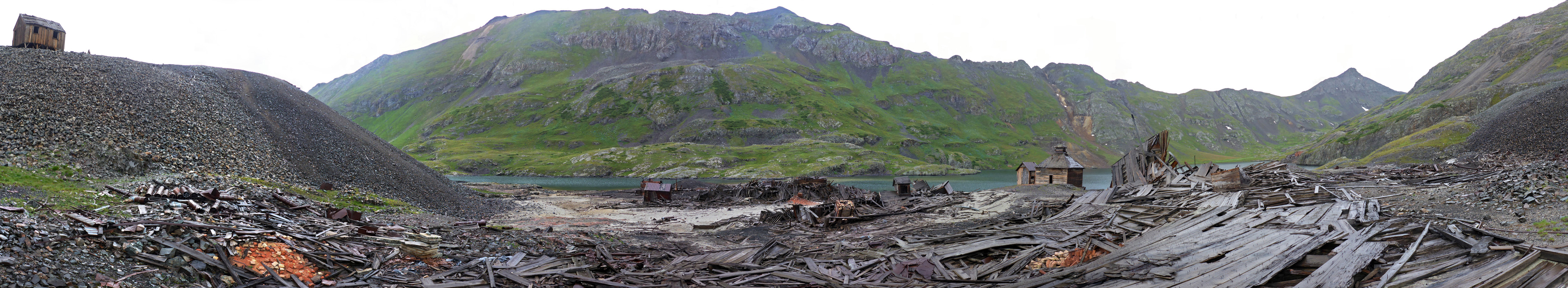 Panorama of the mine