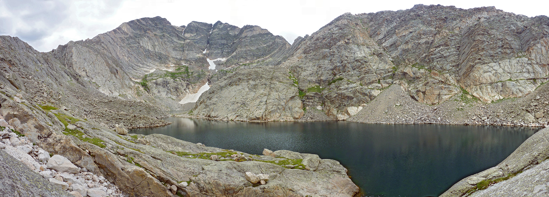 Panorama of the Spectacle Lakes