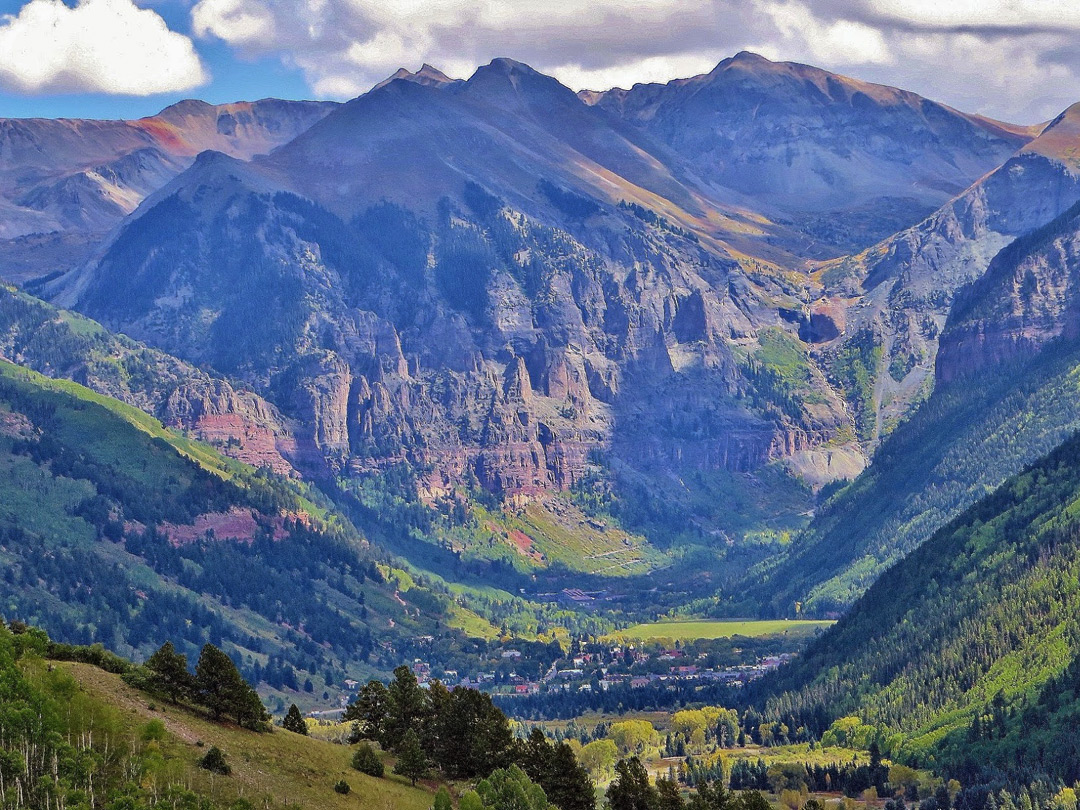 Mountains above Telluride