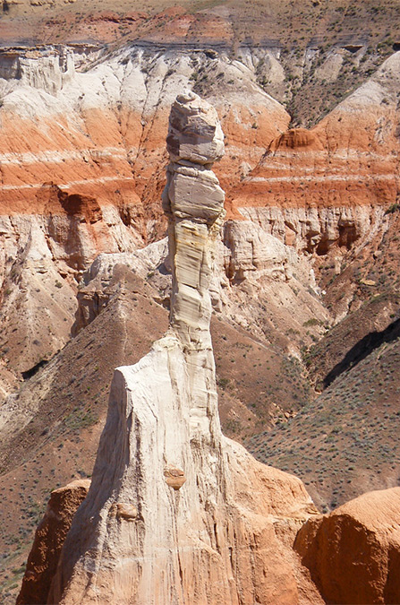 Isolated hoodoo