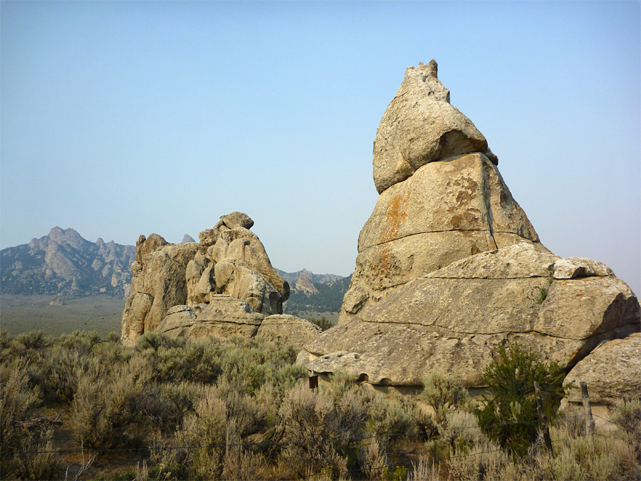 Formations near Camp Rock