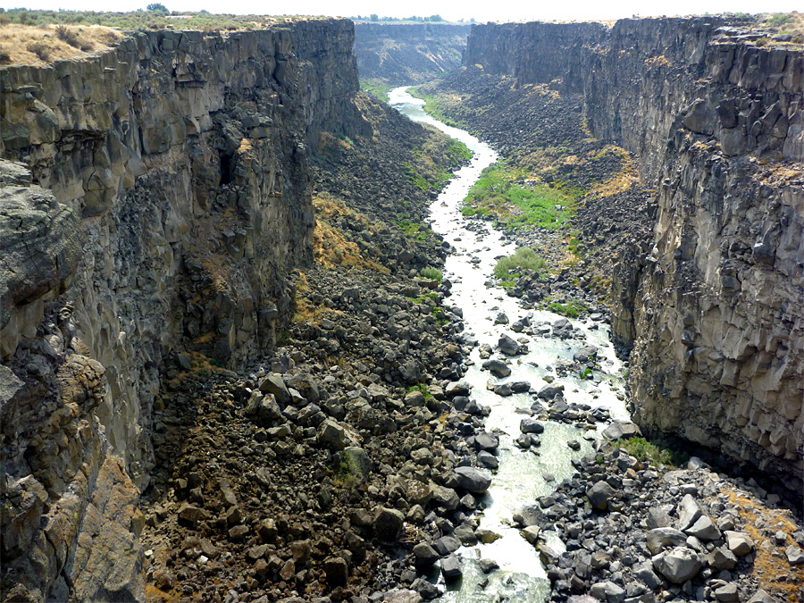 Malad Gorge, from the bridge
