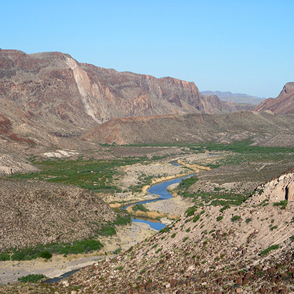 Rio Grande, Big Bend Ranch State Park
